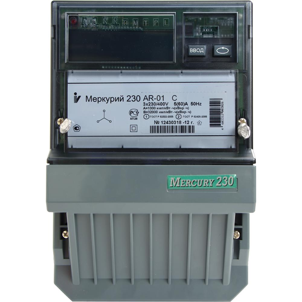 Счетчик электроэнергии меркурий 230ar 01c